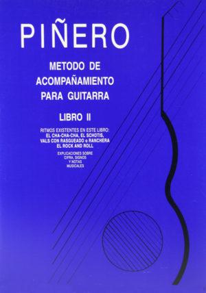 Méthode d'accompagnement pour Guitare - Livre II
