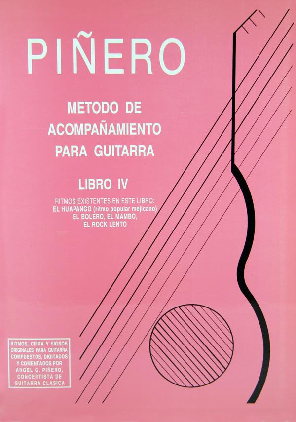 Método de Acompañamiento para Guitarra - Libro 4