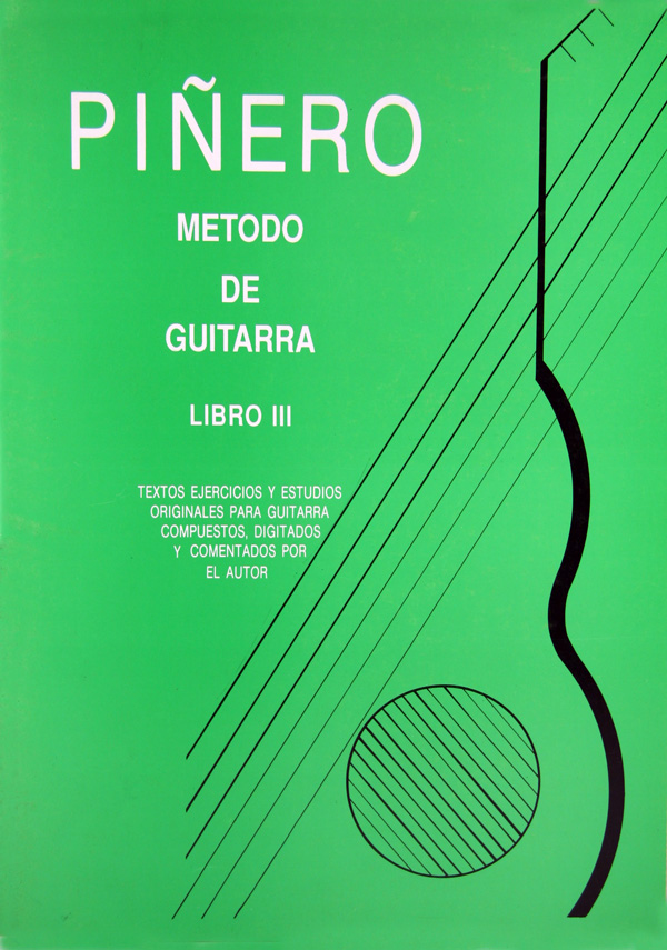 Método de Guitarra Clásica Angel G. Piñero  - Libro 3