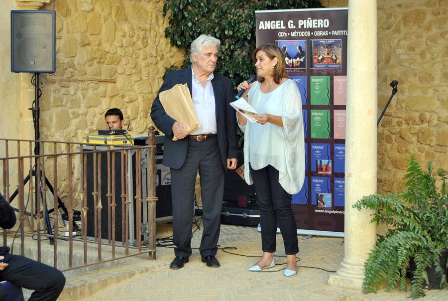 Doña María Antonia Martínez, Concejala de Educación del Excmo. Ayuntamiento del Puerto de Santa María