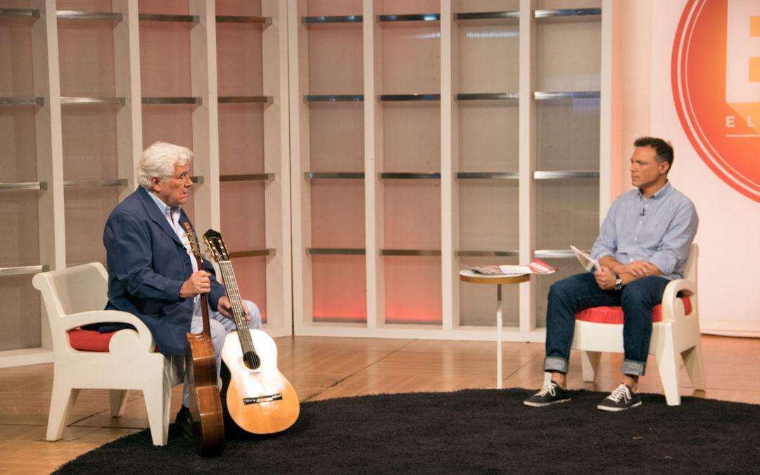 Angel G. Piñero en el programa El Mirador de Onda Cádiz
