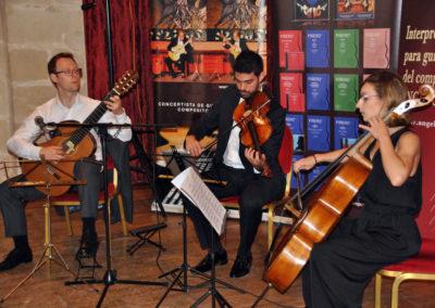 Martin Bickerton (Inglaterra) con el cuarteto de cuerda Chagall.
