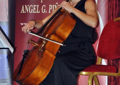 Componente del cuarteto de cuerda Chagall.