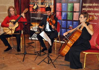 Roman Zorkin (Rusia) con el cuarteto de cuerda Chagall.