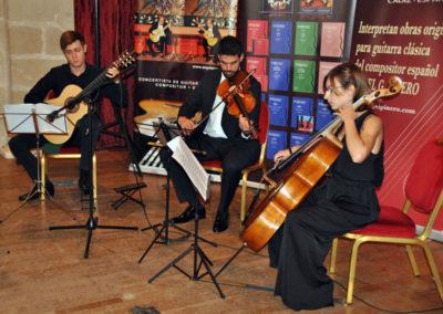 Stanislav Steshenko (Ucrania) con el cuarteto de cuerda Chagall.