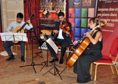 Victor M. Casero (España) con el cuarteto de cuerda Chagall.