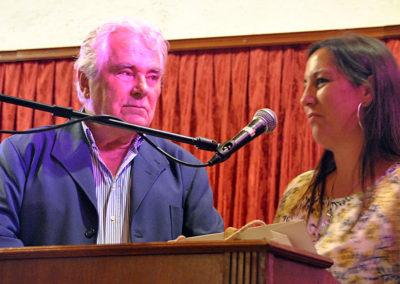 Concejala del Ayto de El Puerto con Angel G. Piñero