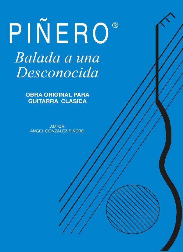 Balada a una Desconocida - Obra para guitarra clásica