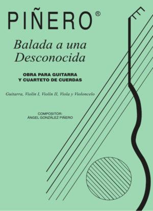 Balada a una desconocida - Obra para Guitarra y Cuarteto