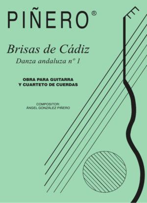 Brisas de Cádiz (Danza andaluza nº1) Guitar and Quartet