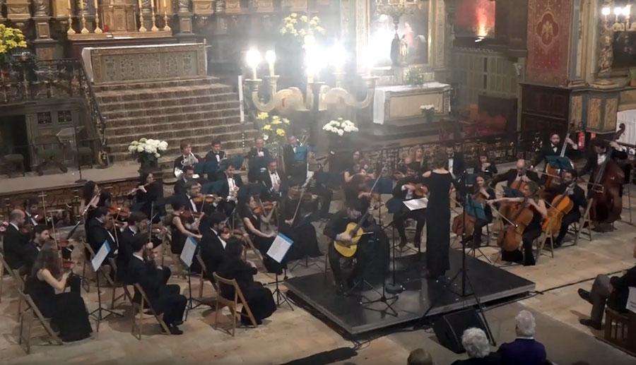 El viernes 7 de junio concierto en San Juan de Luz (Francia)
