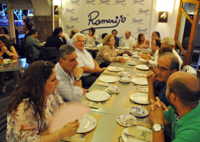 Dinner offered by Romerijo restaurant