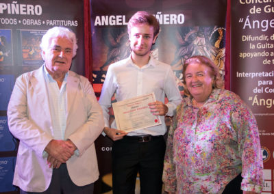 Angel G. Piñero, Stanislav Steshenko (2nd prize) and Catherine Lacoste