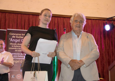 Ana Cizmek 4th prize of the competition