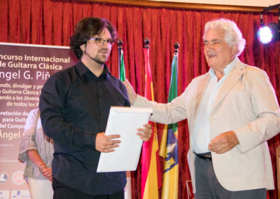 Luca Romanelli competition winner