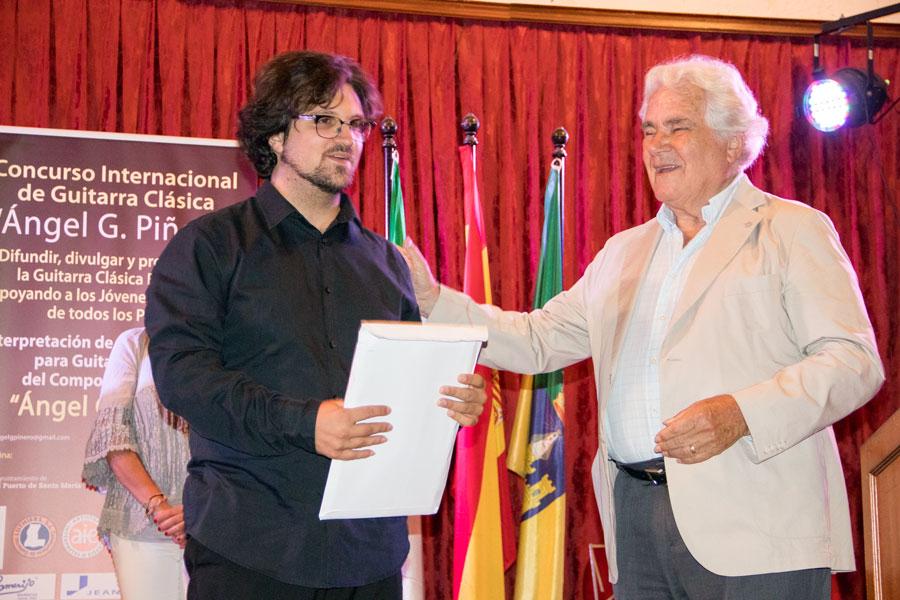 Luca Romanelli ganador del concurso