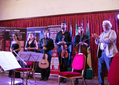 Final performance Luca Romanelli and the Chagall Quartet