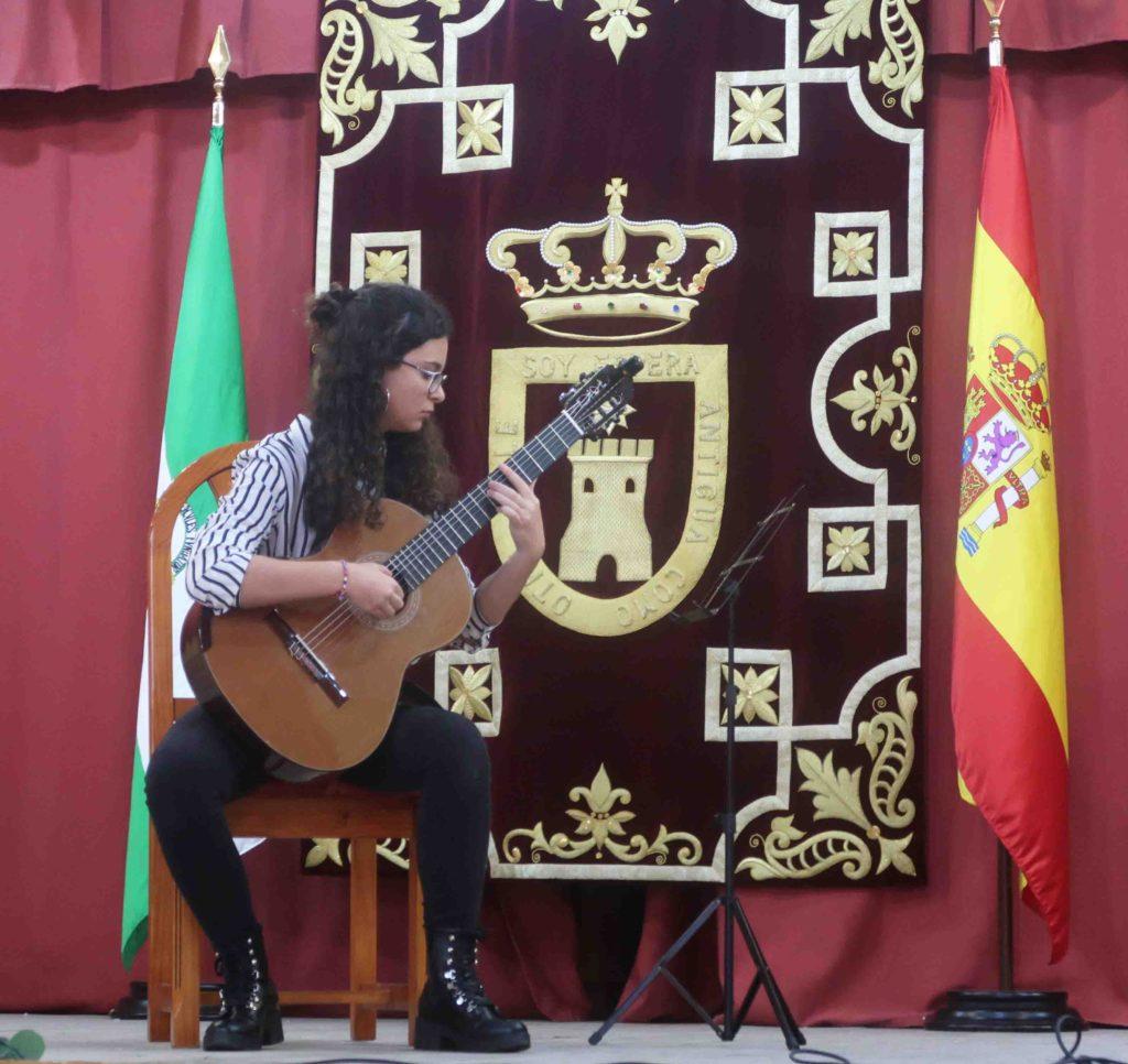 Lucía Fernández ganadora del I Concurso Andaluz de Guitarra Clásica