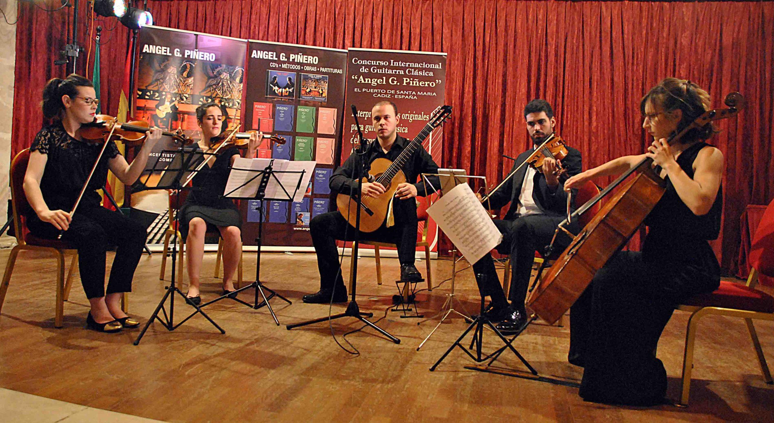 Obras del compositor andaluz Ángel G. Piñero sonarán en mayo en varios conciertos en Madrid y Francia