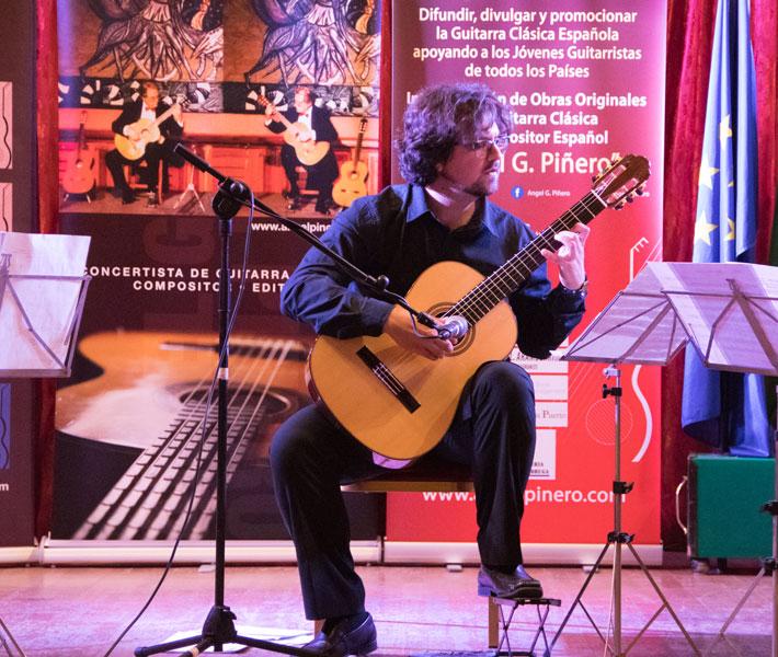 """El VII Concurso Internacional de Guitarra Clásica """"Ángel G. Piñero"""" se reinventa y se celebrará por internet"""