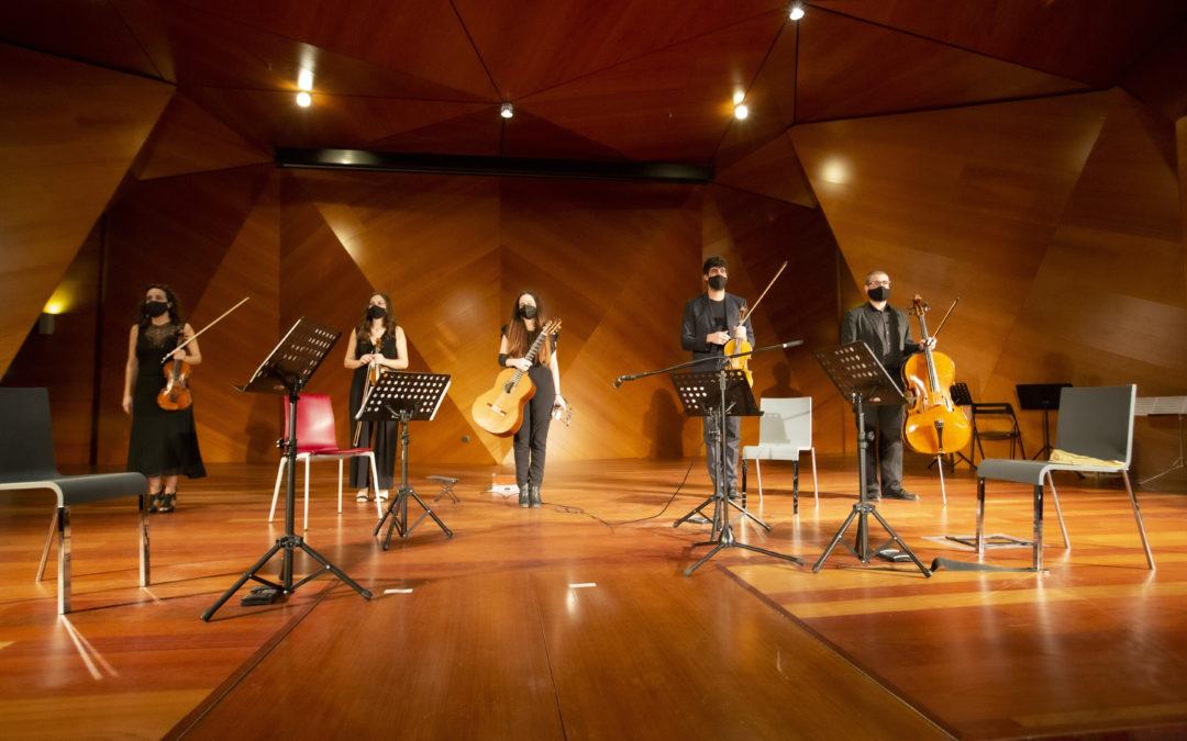 Guitarra y Cuarteto Chagall – 22.11.2O2O COMA